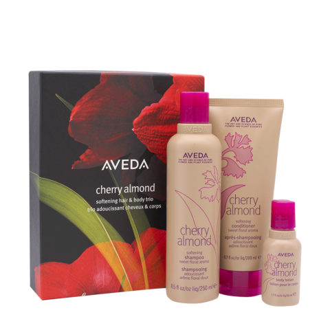Aveda Cherry Almond Christmas Set For Dry Hair