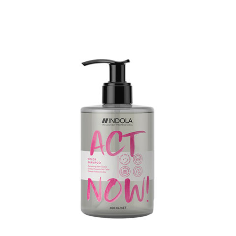 Indola Act Now! Color Shampoo for Colored Hair 300ml