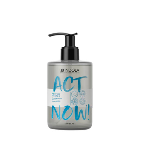 Indola Act Now! Moisture Shampoo For Dry Hair 300ml