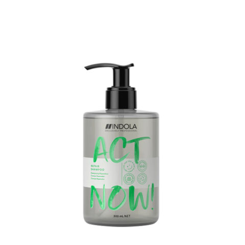 Indola Act Now! Repair Shampoo For Damaged Hair 300ml