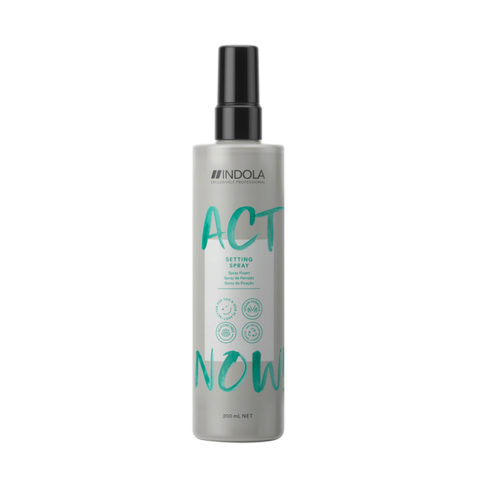 Indola Act Now! Setting Detangling Spray for all hair types 200ml