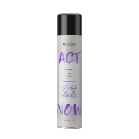 Indola Act Now! Medium Hold Hairspray 300ml