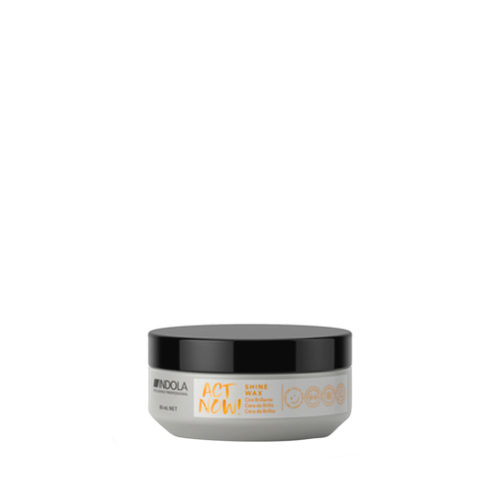 Indola Act Now! Shine Glossy Wax 85ml