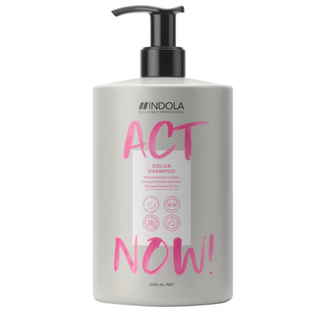 Indola Act Now! Color Shampoo for Colored Hair 1000ml