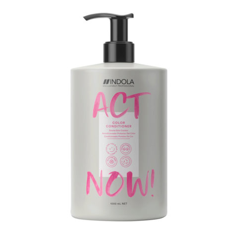 Indola Act Now! Color Conditioner For Colored Hair 1000ml