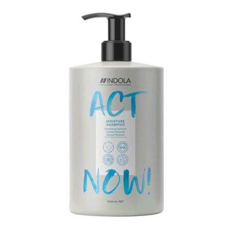 Indola Act Now! Moisture Shampoo For Dry Hair 1000ml