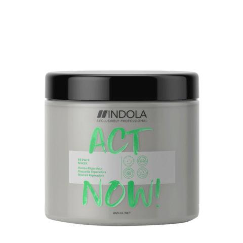 Indola Act Now! Repair Damaged Hair Mask 650ml