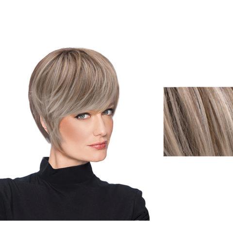 Hairdo Wispy Cut Light Ash Blonde Short Cut Wig With Brown Root