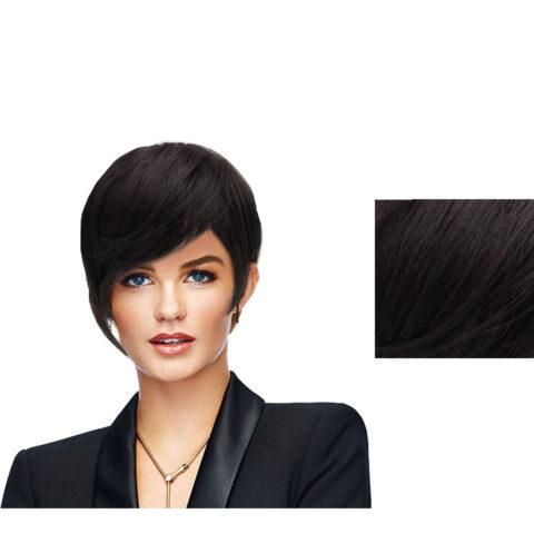 Hairdo Very Dark Brown Black Angled Cut Wig