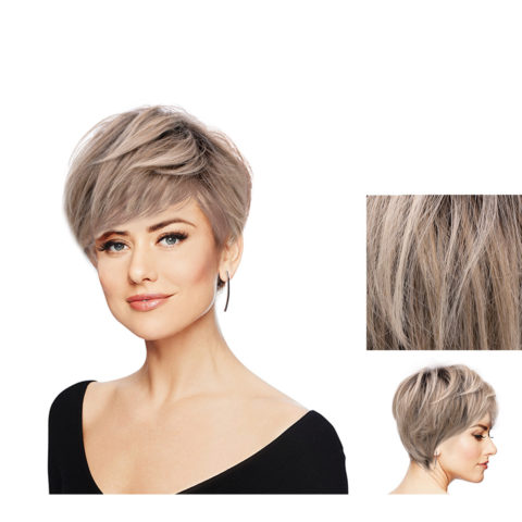 Hairdo Perfect Pixie Light Ash Blonde With Brown Root