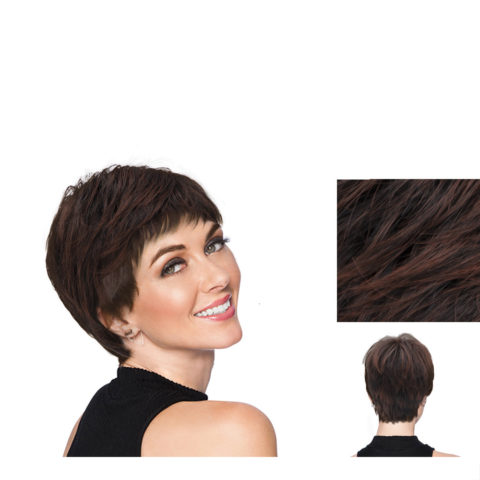Hairdo Textured Cut Cherry Brown Wig