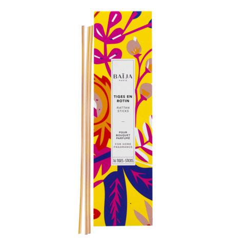 Baija Paris 16 Rattan Sticks for Home Fragrance