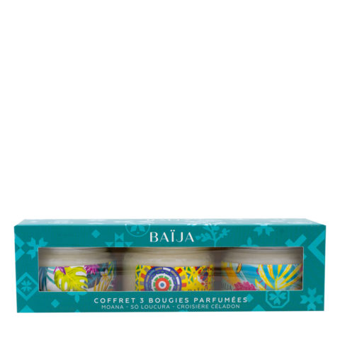 Baija Paris Gift Box with 3 Scented Candles 3x50gr