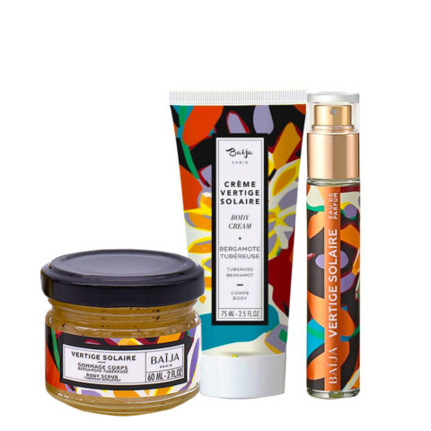 Baija Paris Kit Body Scrub 60ml Body Cream 75ml Perfume 15ml