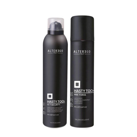 Alterego Styling Thermal Protection Spray 300ml and Strong Spray 100ml