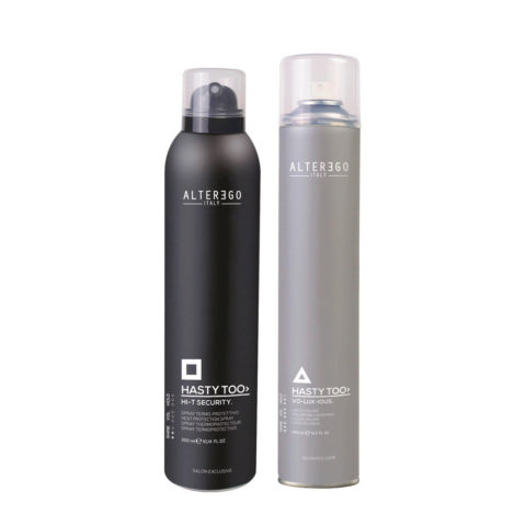 Alterego StylingThermal Protection Spray 300ml and Volumizing Spray 500ml