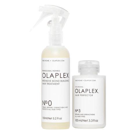 Olaplex Pre Shampoo Treatment Set to Repair Damaged Hair