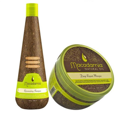 Macadamia Kit for Very Damaged Hair Shampoo 300ml and Mask 470ml