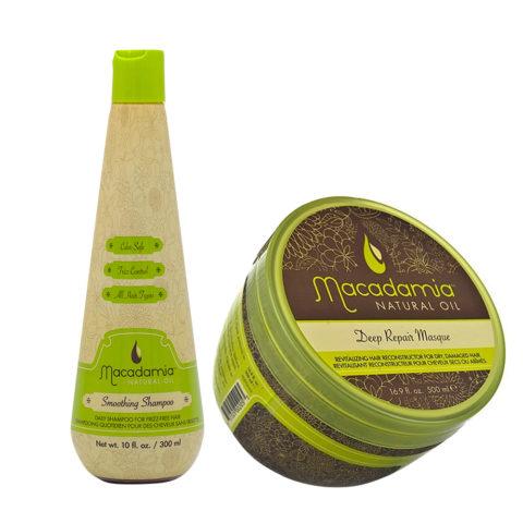 Macadamia Kit Anti-Frizz Shampoo 300ml and Restructuring Mask 470ml
