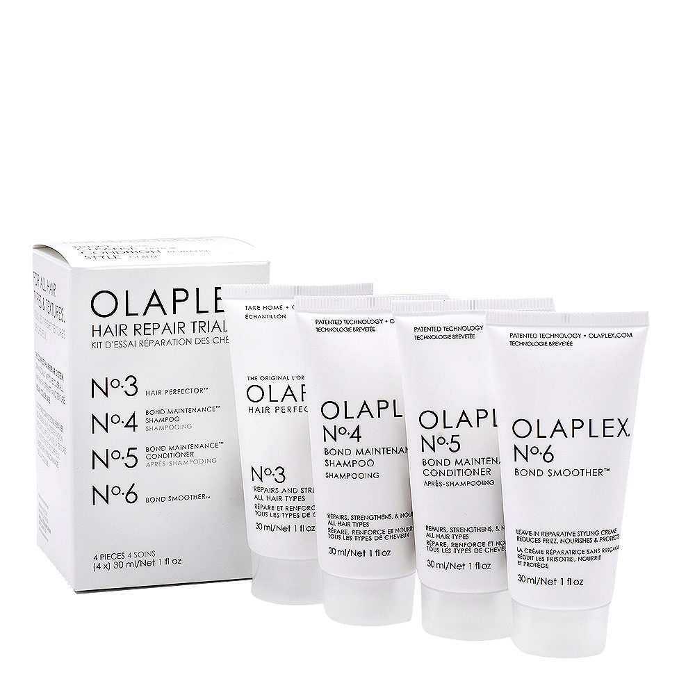 Olaplex Travel Set Reconstruction Set For Damaged And Frizzy Hair
