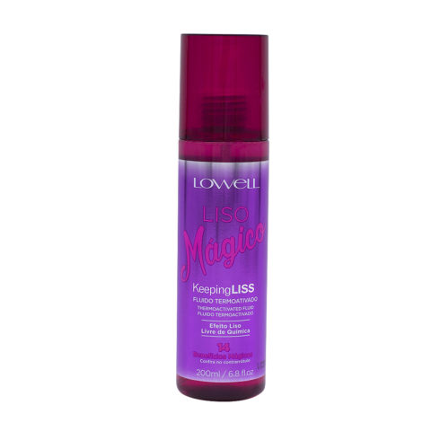 Lowell Liso Magico Anti-frizz Smoothing Fluid 200ml