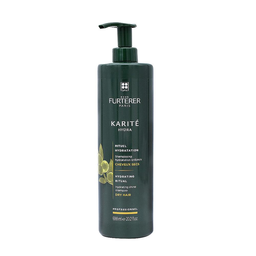 René Furterer Karité Hydrating ritual Shine Shampoo 600ml - dry hair