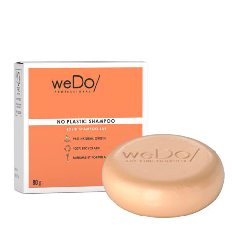 weDo No Plastic Solid shampoo for all hair types 80gr