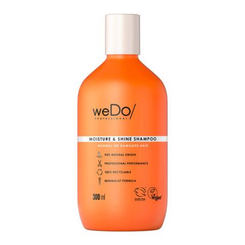 weDo Moisture & Shine Sulphate-free shampoo for normal or damaged hair 300ml