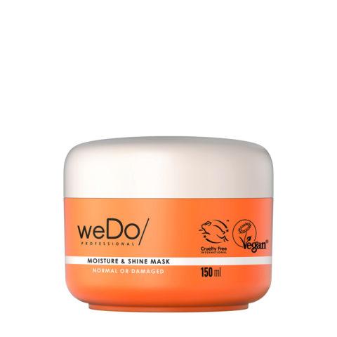 weDo Moisture & Shine Moisturizing Mask for Normal or Damaged Hair 150ml