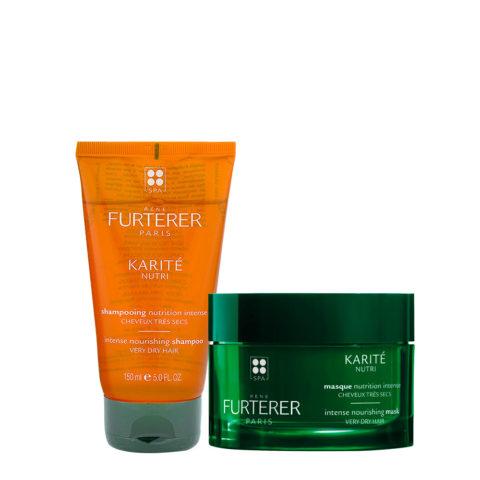 René Furterer Karité Moisturizing Shampoo 150ml and Mask 200ml