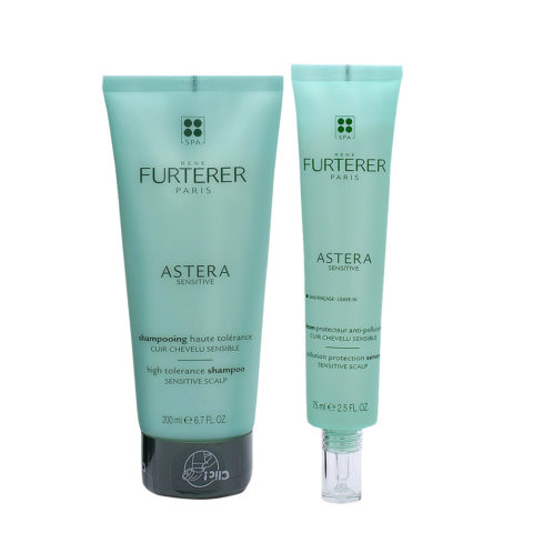 René Furterer Astera for Sensitive Scalp Shampoo 200ml and Serum 75ml