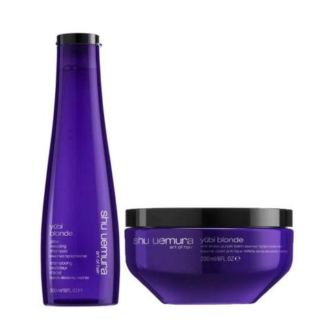Shu Uemura Yubi Blonde Kit Blonde Hair Shampoo 300ml Mask 200ml