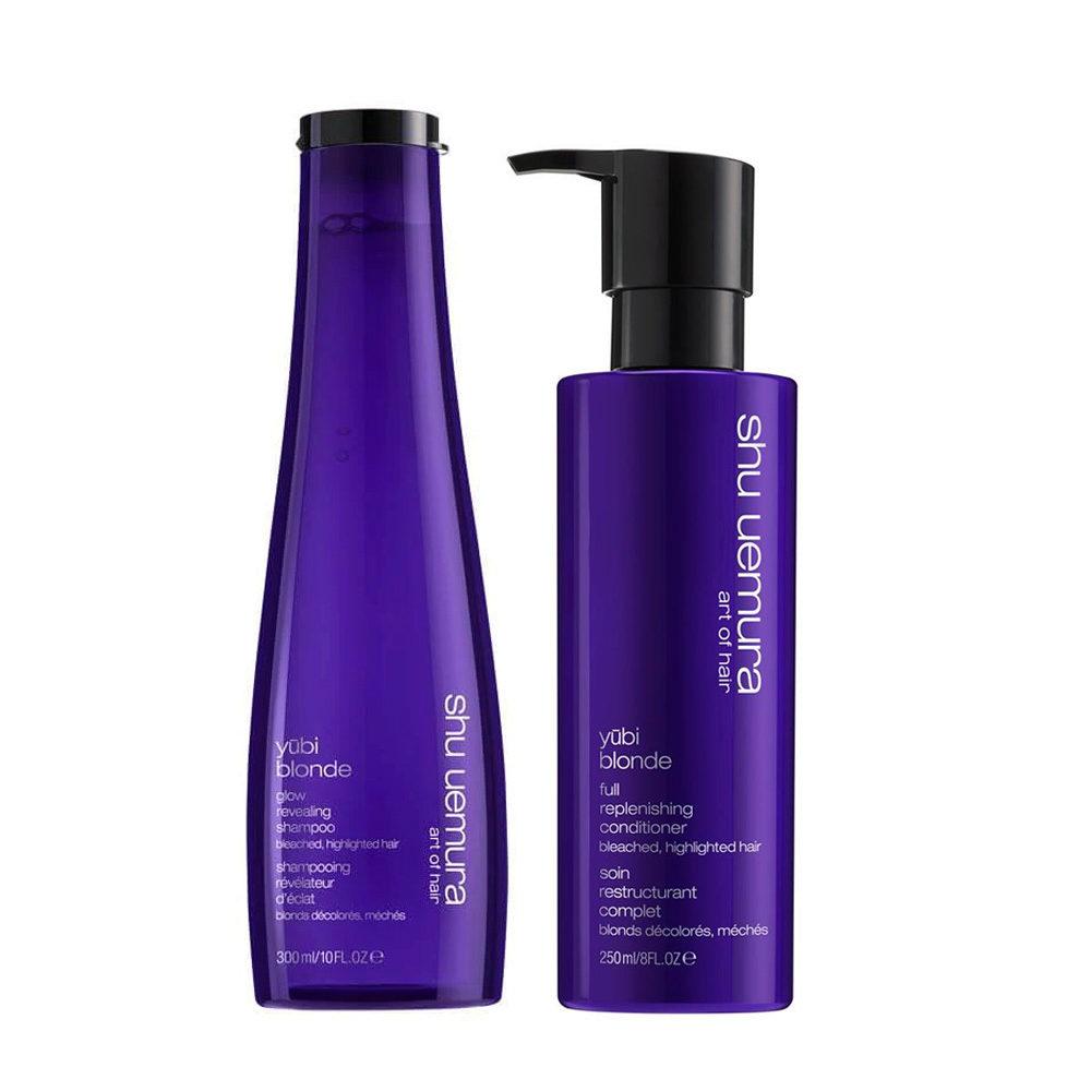 Shu Uemura Yubi Blonde Kit Shampoo 300ml Conditioner 250ml