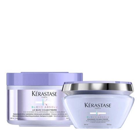 Kerastase Blond Absolu Cicaextreme Shampoo 250ml and Mask 200ml