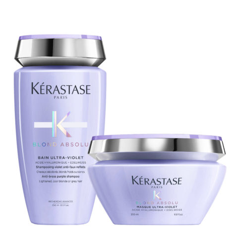 Kerastase Blond absolu Kit Bain ultra violet 250ml Mask 200ml