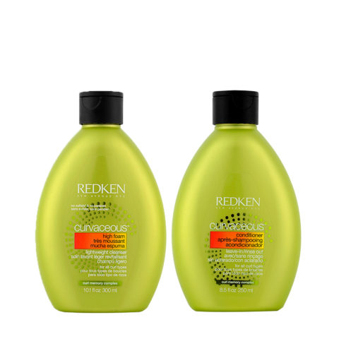 Redken Curvaceous Shampoo 300ml And Conditioner 250ml Curly Hair