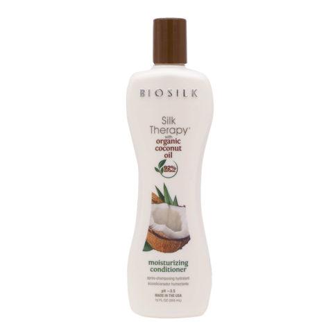 Biosilk Silk Therapy With Coconut Oil Moisturizing Balm 355ml