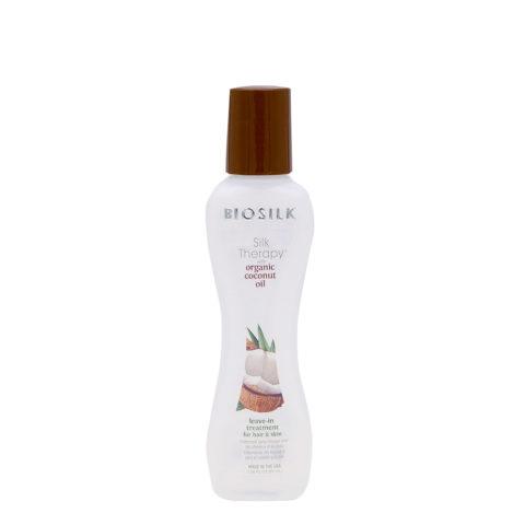Biosilk Silk Therapy Coconut Oil Leave In Treatment Hair Skin 67ml