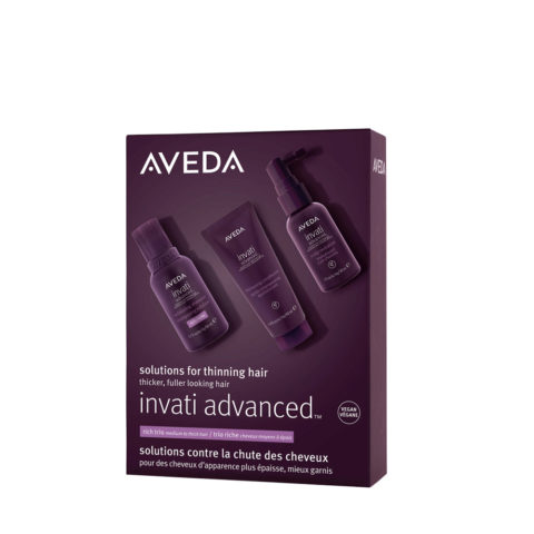 Aveda Invati Advanced Rich Set for Weak Falling Hair
