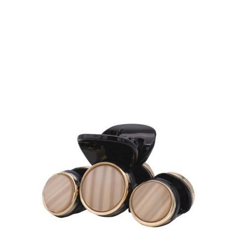 VIAHERMADA Hair Clipper With 3 Brown Stone Discs