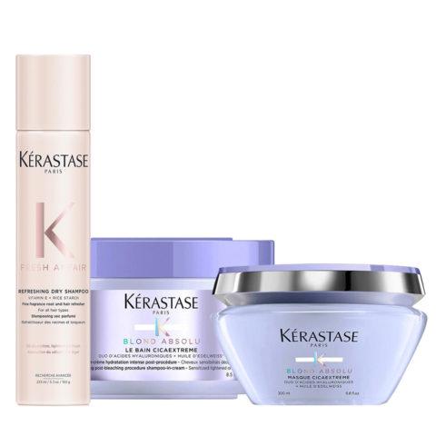 Kerastase Fresh Affair Dry Shampoo 150gr Cicaextreme Shampoo 250ml Mask 200ml