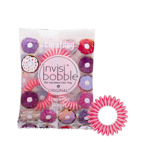 Invisibobble Cheatday Donut Scented Hair Band