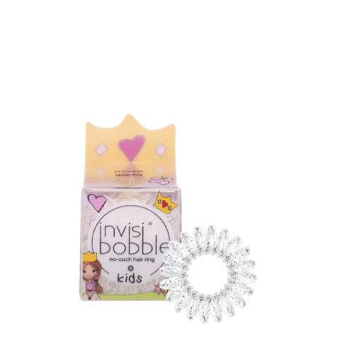 Invisibobble Kids Transparent Baby Hair Elastic with Glitter