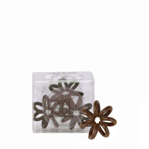 Invisibobble Nano mini brown hair tie