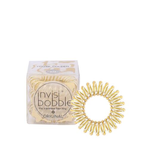 Invisibobble Original Gold hair elastic