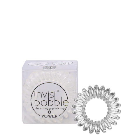 Invisibobble Power Transparent elastic for thick hair