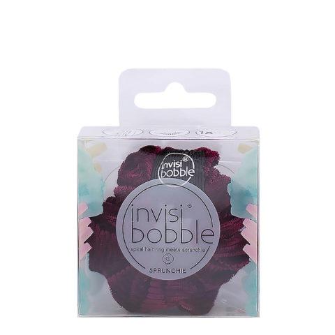 Invisibobble Sprunchie Pink Velvet Vintage Hair Elastic