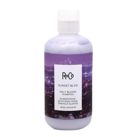 R+Co Sunset Blvd Shampoo for Blonde Hair 241ml