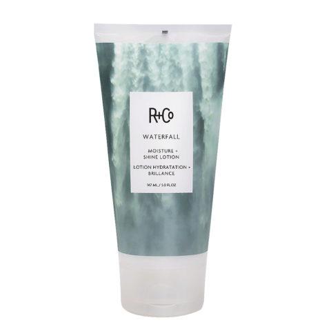R+Co Waterfall Moisture   Shine Lotion Light Moisturizing Cream 147ml