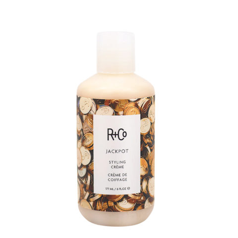 R+Co Jackpot Styling Cream Strong Hold 177ml